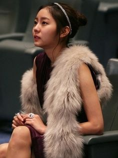 #uee Uee After School, Hong Ki, You're Beautiful, Actors & Actresses, Korean Fashion, Kdrama, Fur Coat, Celebs, Asian