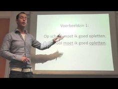 Les 04: werkwoordelijk gezegde (flipping the classroom) - YouTube