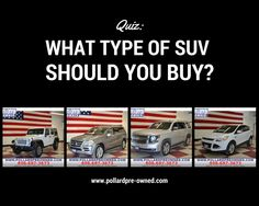 Pollard Pre-Owned: What Type of SUV Should You Buy?