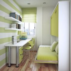 Space-Saving Furniture for Your Small Bedroom (Fres Home) | Space ...