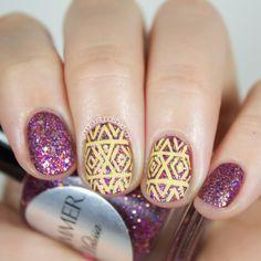 Shimmer Polish - Melissa: Swatches & Nail Art