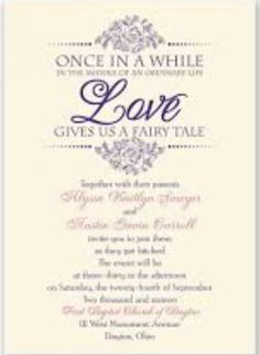 A Guide to Wedding Invitation Wording Etiquette Pinterest
