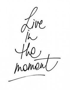 Live In The Moment :: Even On A Monday Morning