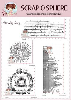 Tampons par Lily Fairy pour la Scraposphère