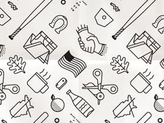 DESIGN TRENDS—ICON PATTERN — Muzli -Design Inspiration — Medium