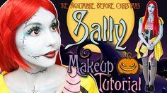 Pin for Later: 15 Tutoriels Beauté Qui Vont Vous Transformer en Reine d'Halloween Sally Skellington