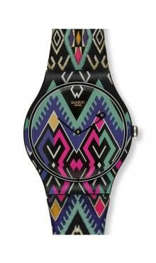 PRETTY BOHEMIAN Swatch Watch - Uma Wang for Swatch $70 http://store.swatch.com/suoz135-p.html#