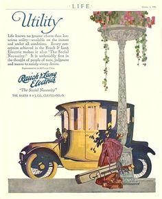 1916 BAKER RAUCH & LANG Electric