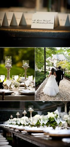 gorgeous, classic wedding