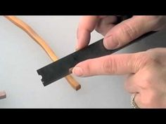 Complex Extruded Cane - Part 2 - This is the second part of the polymer clay tutorial teaching a polymer clay cane creation technique using an extruder.