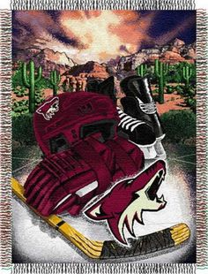 phoenix-coyotes-nhl-home-ice-tapestry-throw
