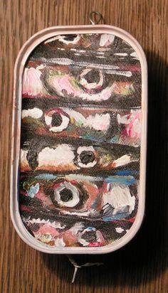 Kunst in kleinen Dosen. Sardinen effage 2006