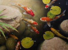 Good Luck Pond No. 2, Giclée print by Terry Gilecki