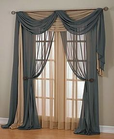 We have been asked for this type of full volume draping curtains a ...