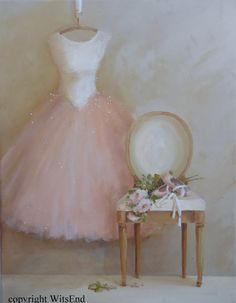 Tutu and roses painting 'AFTER THE DANCE'. Tutu and chair painting original ooak ballet Gown, shoes, roses. by via Etsy Beautiful Posters, Beautiful Paintings, Art Ballet, Pretty Ballerinas, Painted Chairs, Shabby Chic Style, Art Themes, Painting Inspiration, Fashion Art