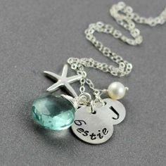 cute best friend jewelry | Necklace, Best Friends Necklace, Sterling Silver Monogram Necklace ...