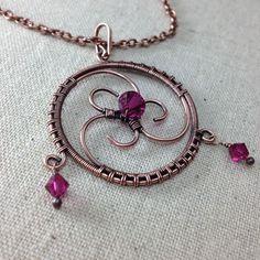Found on Pinterest - A kind of trinity pendant