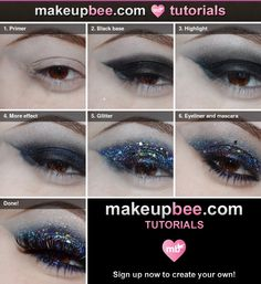 Glittery Eyes Tutorial!