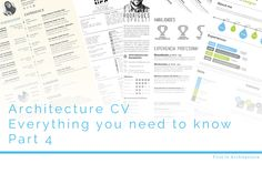 In this part of our Architecture CV series we look at how to design your architecture CV, with examples of other CVs to use as inspiration. Resume Cv, Resume Tips, Resume Ideas, Portfolio Samples, Portfolio Ideas, My Cv, Best Positions, Couple Questions, You Are Perfect