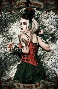 Gothic girl. Elena Vladi