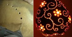 Gourds come in many shapes and sizes. Some are big enough (pumpkins) to create some unique items like lamps for use indoors and out. For light outdoors the gourd lamp could be equipped to use a solar light for the lighting source. Natural or paint them, drill holes and make a personalized lamp. Watch the …