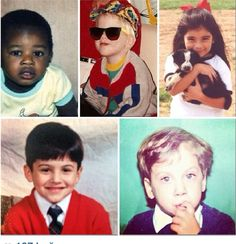 Oh. My. Gosh!!!!! They are sooooo cute! At first I couldn't tell between Scott and Avi but you can recognize Avi cuz of his beautiful eyes! Apparently he even had 'em when he was a kid! <3