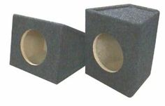 "R/T 6 1/2"" Speaker Box Enclosures - Pair by R/T Enterprises. $24.95. This pair of wedge style 6 1/2"" speaker boxes comes with terminal blocks for easy hook up."