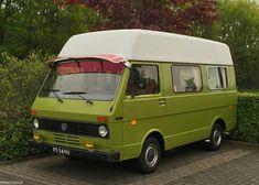 Volkswagen LT28D Camper Vw Camper, Vw Bus, Volkswagen, Campers, Vw Lt 28, Audi, Porsche, Cool Vans, Van Camping