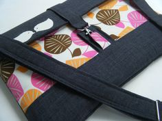 NEW111315 or 17 inch macbook bagmatching by IUptownChic on Etsy, $58.90