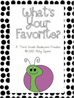 Classroom Freebies Too: What's Your Favorite?