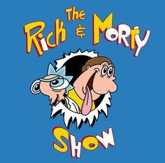 Rick and Morty x Ren and Stimpy Ricky And Morty, Rick I Morty, Rick And Morty Poster, Cartoon Crossovers, Ricky Martin, Cartoon Games, Dope Art, Disney Cartoons, Anime Comics