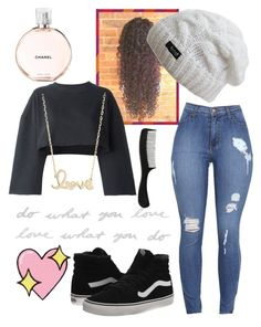 """Untitled #65"" by amuh2002 on Polyvore featuring Vans, Umbra, adidas Originals, Sydney Evan, Chanel and Big Bud Press"