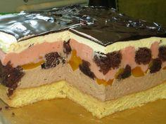 Lemon Sponge Cake, Russian Cakes, Lemon Mousse, Milk Cake, Tasty, Yummy Food, Polish Recipes, Lemon Grass, Raspberry