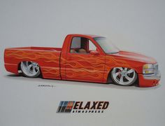 Flaming Chevy !