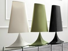 FABRIC TABLE LAMP MACCHIA BY ERBA ITALIA | DESIGN GIORGIO SORESSI