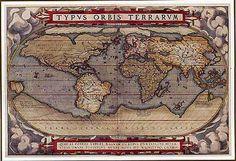 Nautical Old Worlk Map