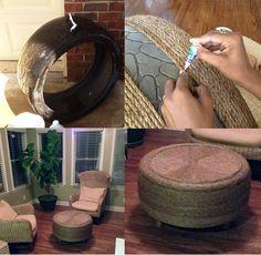 Myslíte si, že staré pneumatiky sa už nedajú na nič využiť? Mnoho vecí, vrátane pneumatík, je možné použiť znovu alebo ich využiť inak.
