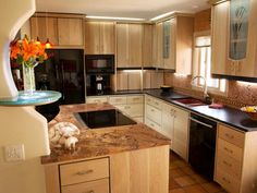 Discover inspiration in these examples of granite kitchen countertop ideas.