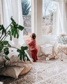 Interior decor inspiration, neutral home decor ideas. How to dress your toddler. Nursery Inspiration, Home Decor Inspiration, Decor Ideas, Room Ideas, Interior Decorating Tips, Interior Ideas, Kids Bedroom Designs, Minimalist Home, Beautiful Interiors