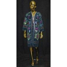 hand embroidered suzani uzbek chapan coat JK60 robe kaftan caftan
