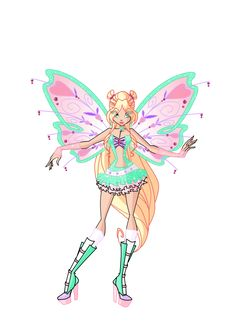 Mythix is probably my least favorite Winx transformation, but I gave it a try anyway. I'm pretty happy with how it turned out, I'm just not a big fan of the shoes Base by MiaEnchantedFairy (?)...