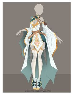 (CLOSED) Adoptable Outfit Auction - 7 by Risoluce on DeviantArt