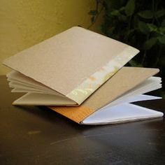 Another DIY journal tutorial - this one would be good for the scraps I'll have…