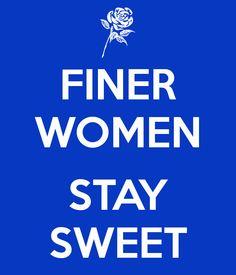 FINER WOMEN  STAY SWEET