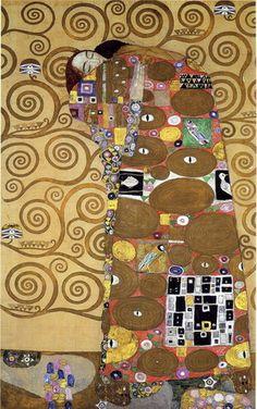 El cumplimiento -Gustav Klimt