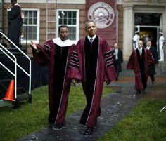President Barack Obama Morehouse swag