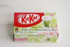 Kit Kat flavors from Japan