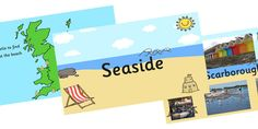 Delight kids in assembly with our informative and beautiful seaside powerpoint. Geographical features, British beaches and more in this educational slideshow. British Beaches, British Seaside, Beach Photos, About Uk, Homeschool, Presentation, Age, Education, Kids