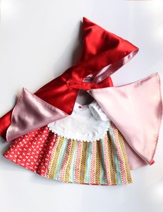 One of the most good known and beloved fairy tales: Little Red Riding Hood! To become the most special and cute little red riding hood, you need the right outfit, we have it!  This costume is designed for baby girls, I have 2 little girls myself and I know well what we moms and little girls need. It includes a quirky hotchpotch dress, a sweet apron and the best bright and glossy hooded cape. All materials used in this costume are baby friendly, dress and apron are 100% cotton, the red hood…