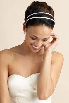 Coiffure mariage avec headband